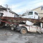 Catastrophic damage in Lower Ninth Ward, New Orleans