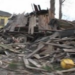 Catastrophic damage in Lower Ninth Ward, New Orleans part2