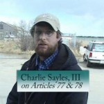 Charlie Sayles III on Atricle 77 & 78