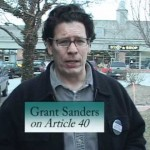 Grant Sanders on Article 40